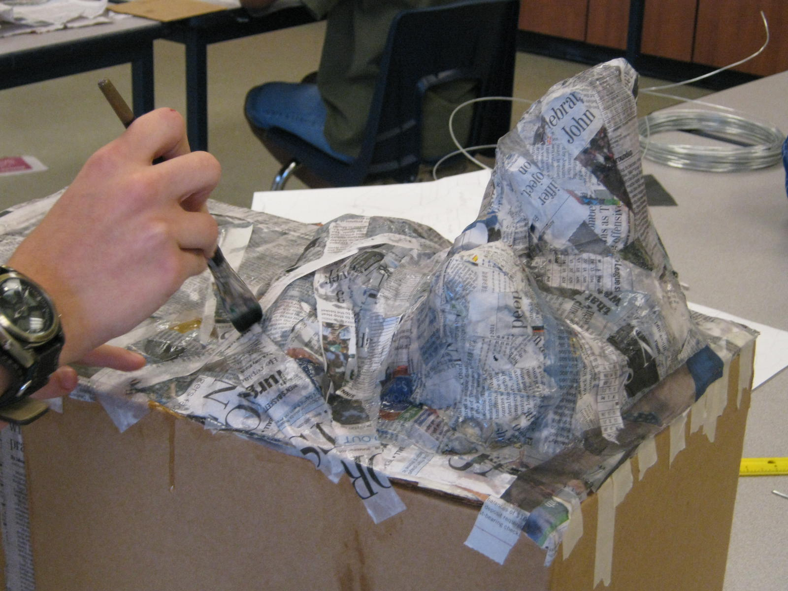 How to make a paper mache rock 28 images how to make a for Papier mache rocks